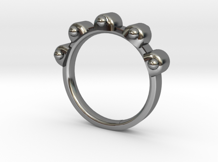 Jester Ring - Sz. 7 3d printed