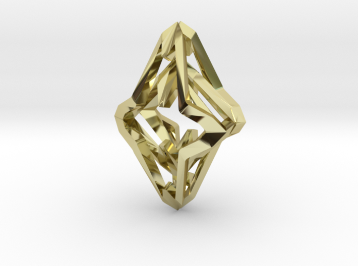 HEART TO HEART Symbiosis , Pendant 3d printed