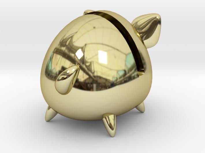 Micro Piggy Bank (Small) 3d printed