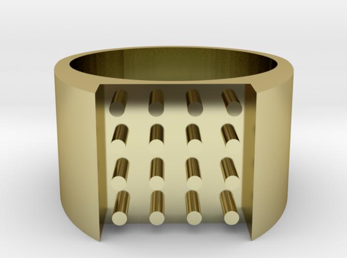 16-bit ring (US6/⌀16.5mm) 3d printed