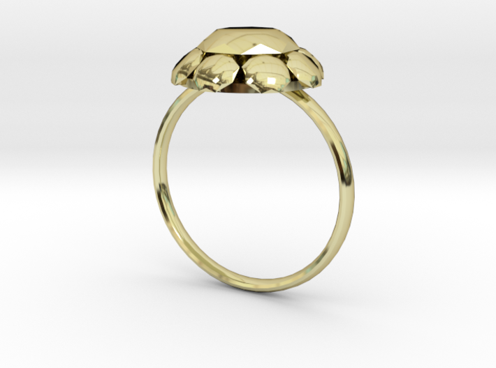 Diamond Ring US Size 8 UK Size Q 3d printed