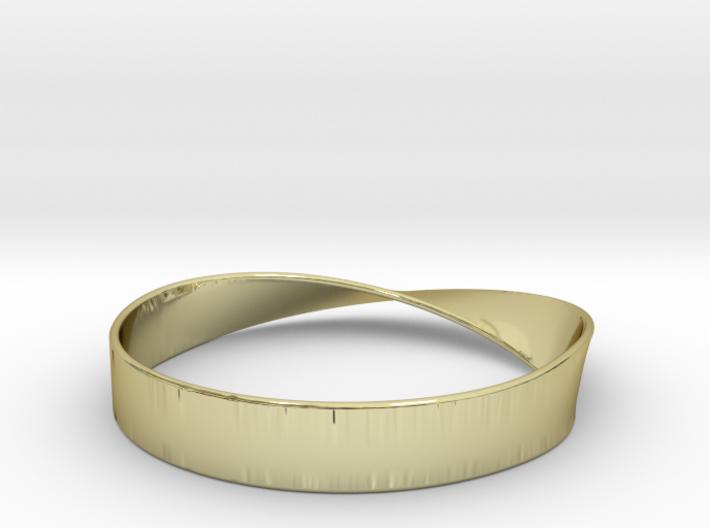 Möbius Bracelet Bangle 3d printed