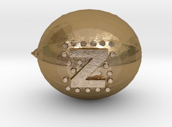 Coconut pendant 3d printed