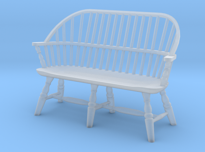 1:48 Windsor Settee 3d printed
