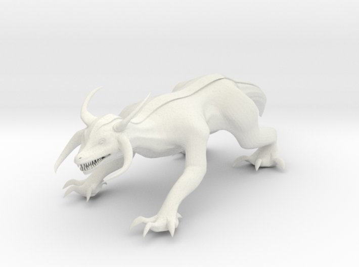 Ground Dragon 3d printed