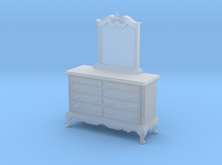 1:48 Dresser with Mirror 3d printed