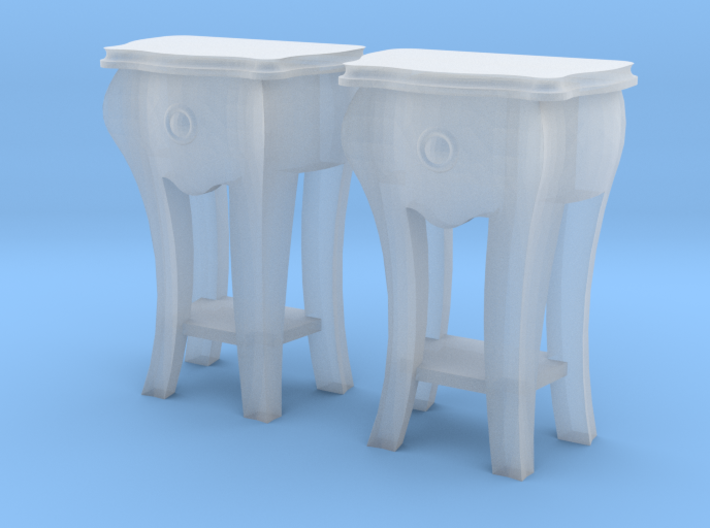 1:48 Bombe Lamp Table, Set of 2 3d printed