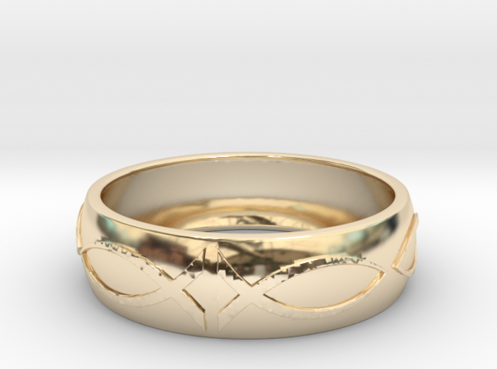 Size 7 Ring 3d printed