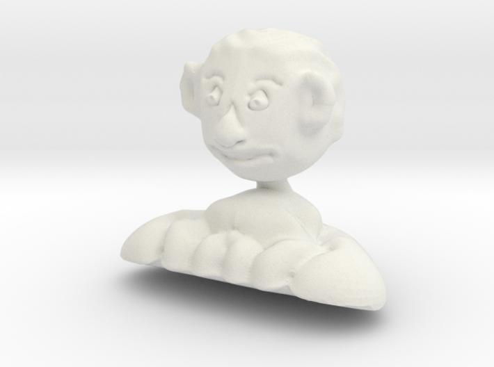Prince Charles Of Wales bust 3d printed