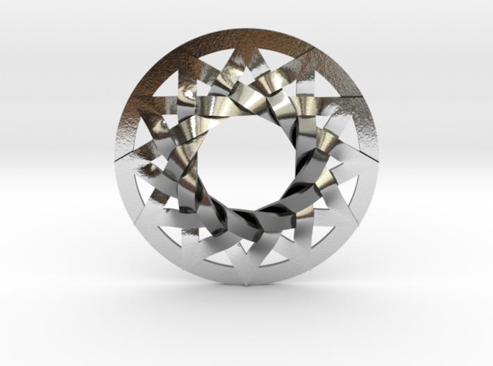 Star of Metatron (no bale) 3d printed