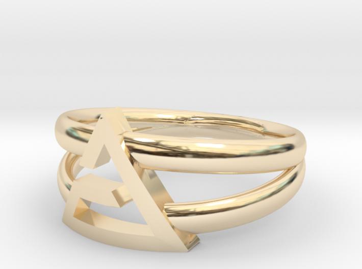 Aard-Quen Ring  3d printed