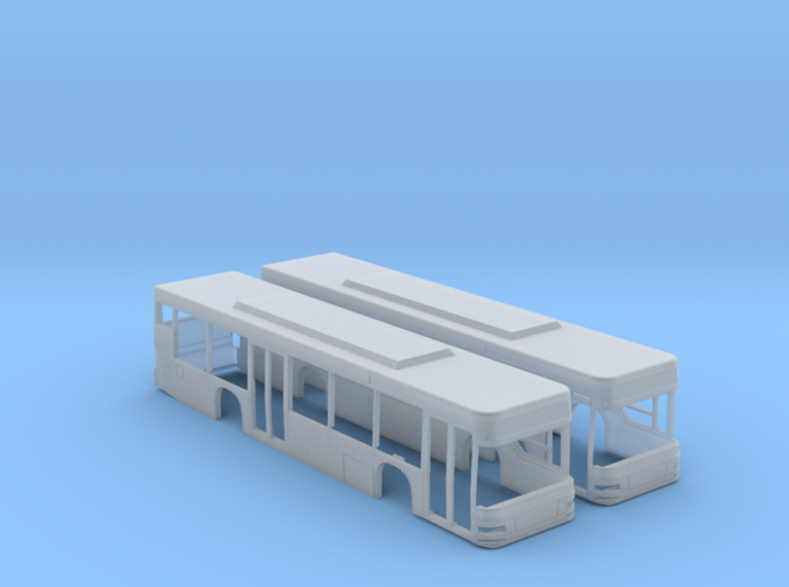 MAN A21 Lion's City Bus (N - 1:160) 2X 3d printed