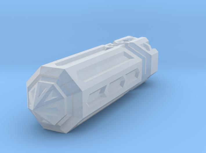 Crystal Pendant Part 1 3d printed