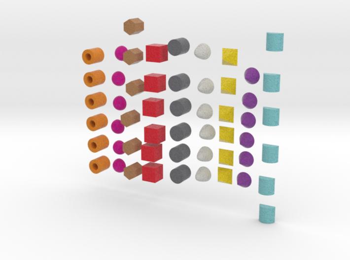 Building Blocks version 2 3d printed