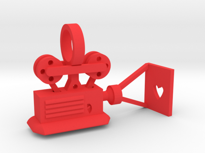 CHD Passions Movie Projector 3d printed