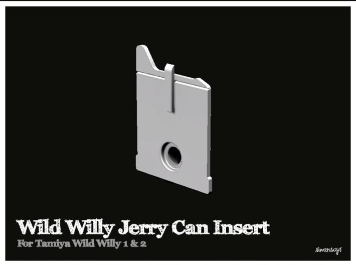 Simensays Wild Willy Jerry Can Insert 3d printed