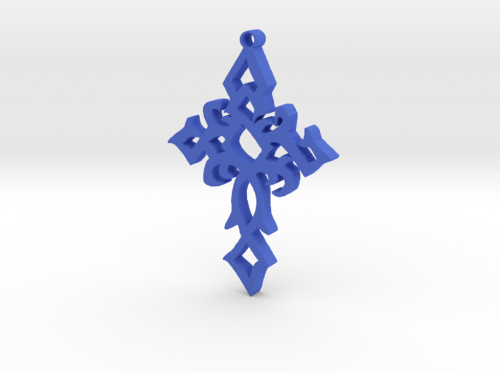 My Heart's Cross 3d printed