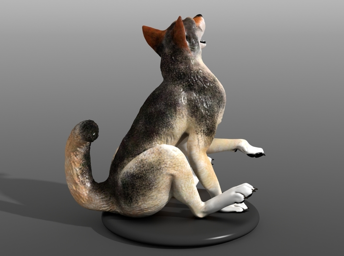 Silly Wolf 3d printed Example 3