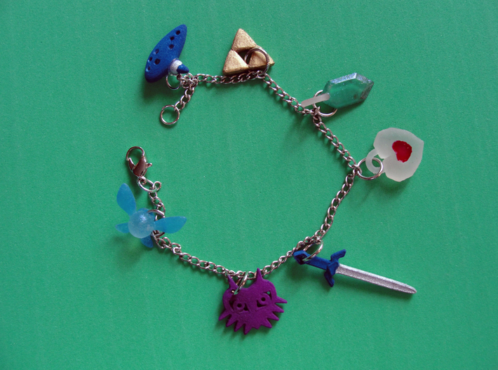 Zelda Charms Part B 3d printed