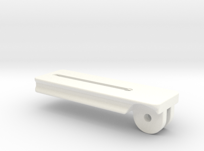 120mm Plate for Tilting Palm Rest 3d printed
