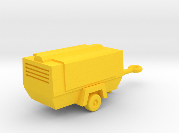 N Scale Mobile Compressor 3d printed