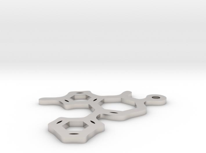 Valium pendant 3d printed
