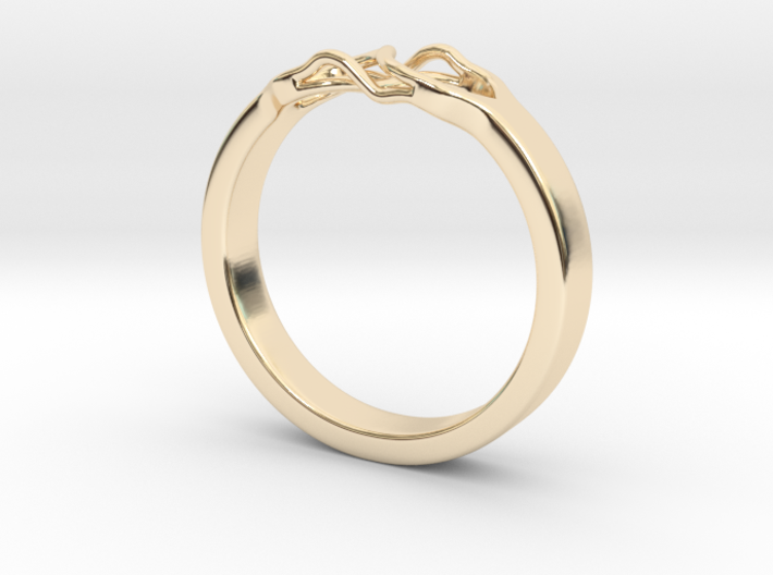 Roots Ring (22mm / 0,86inch inner diameter) 3d printed