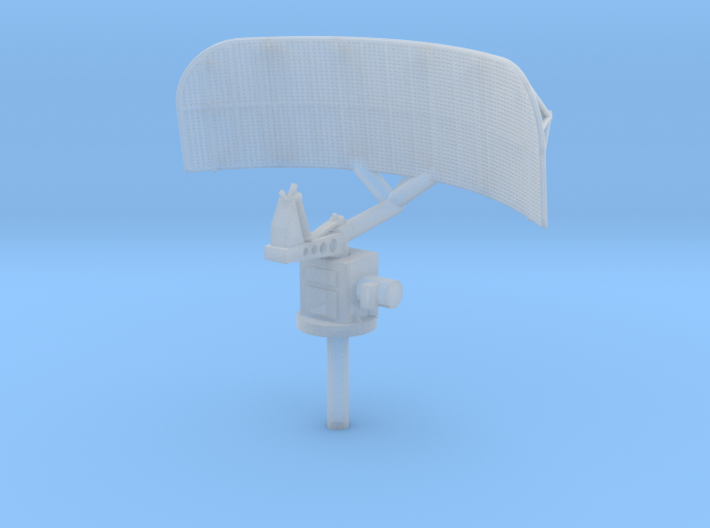 1:96 scale SPS 10 radar 3d printed