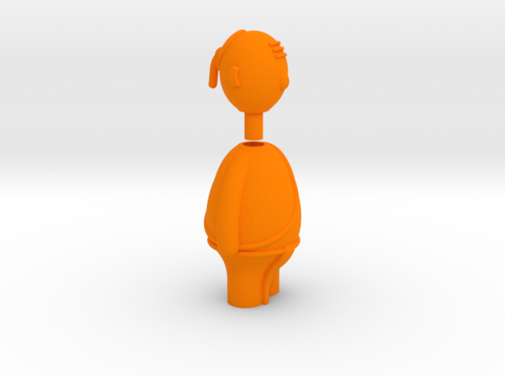 South Indian iyer - Indian-vidual Indian style fig 3d printed
