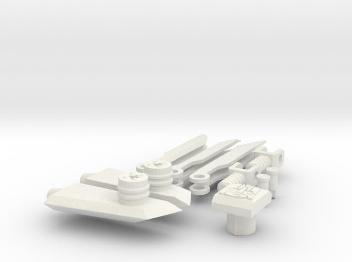 DOTM Voyager Skyhammer Assault Kit v2.0 3d printed