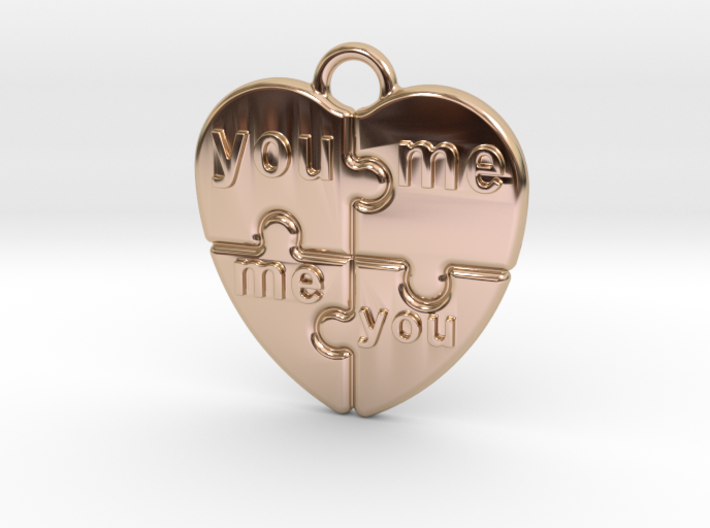 You And Me 3d printed