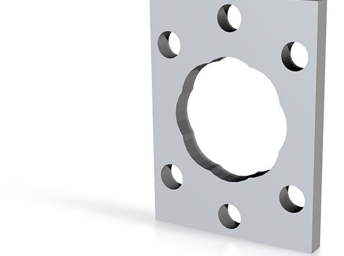 LS-32 octagonal gate 3d printed