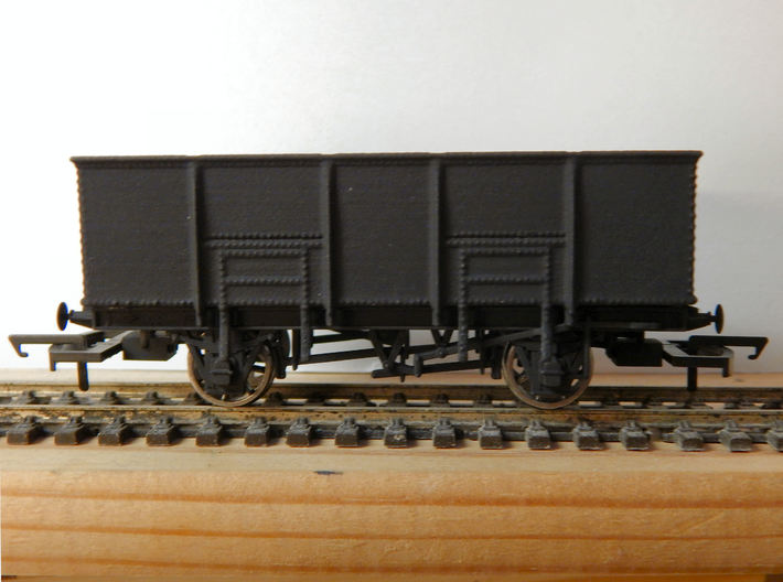 GWR N34 Steel Bodied 21t Loco Coal Wagon (00) v1 3d printed Add a caption...