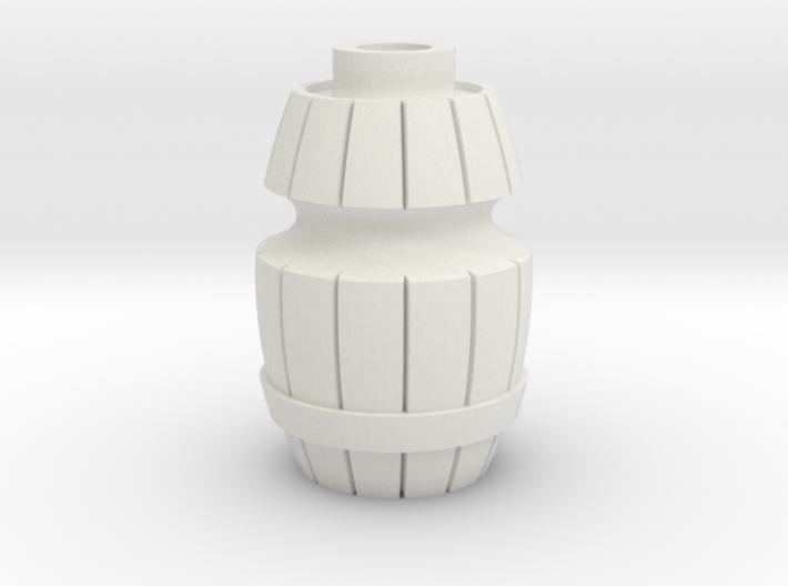 Danesi Designs Wood Barrel Star Post (Williams / S 3d printed