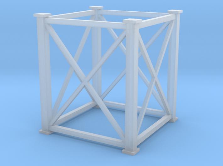 'N Scale' - 8'x8'x10' Tower 3d printed