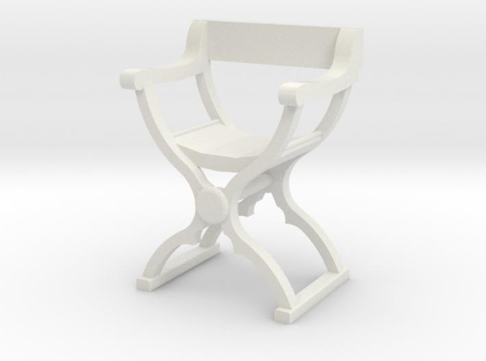 1:48 Savonarola Chair 3d printed