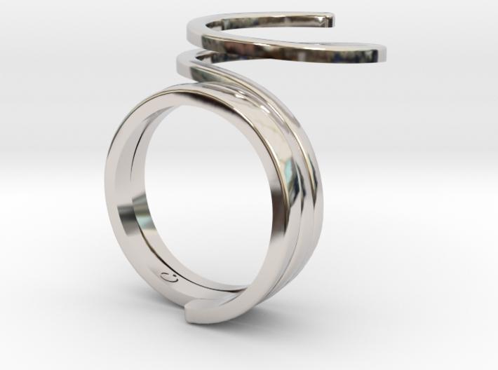 Wrap Ring 3d printed