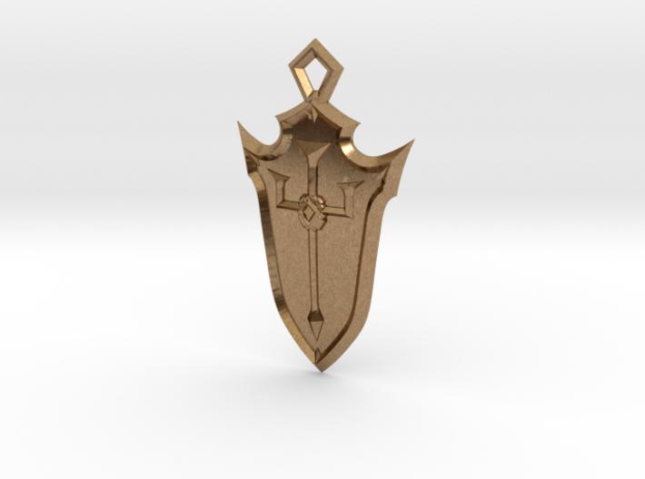 Crusader Shield 3d printed
