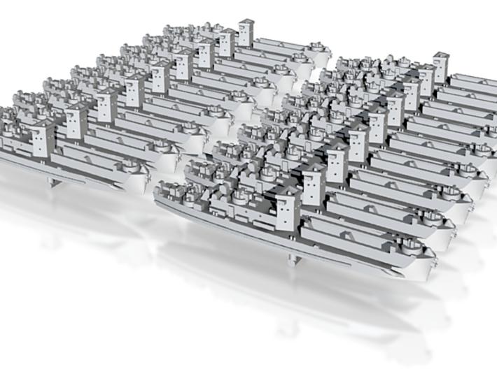 1/1200 LCI(L) (Square Bridge-Side Ramps) (x18) 3d printed