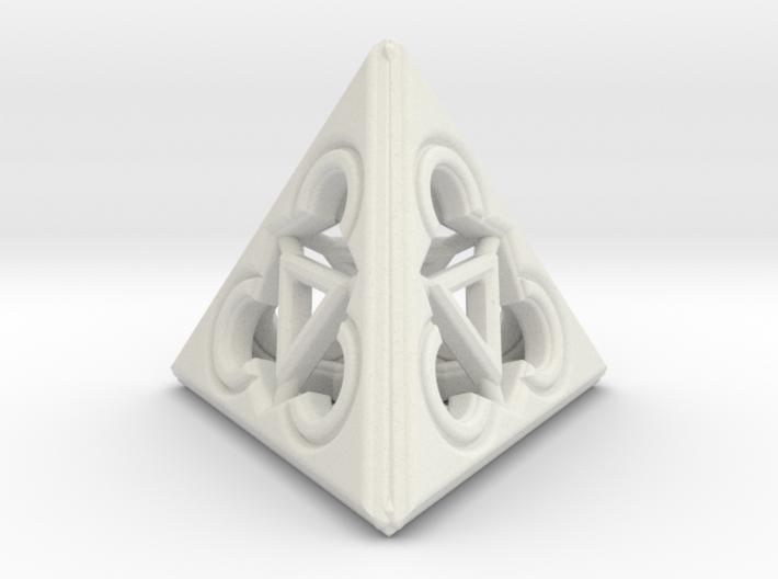 TRINITY RINGS (figurine) 3d printed