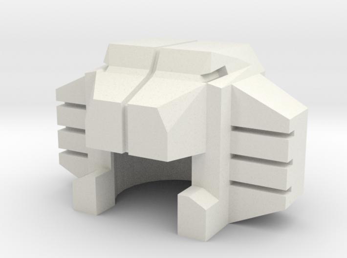 Robohelmet: Last Hiss 3d printed
