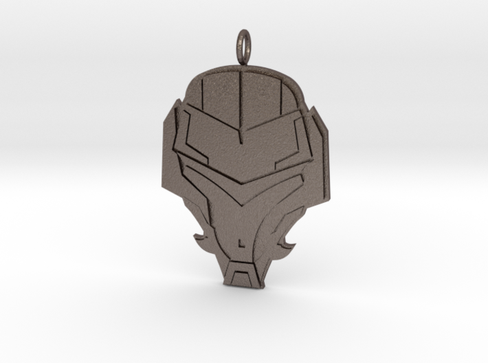 Stylish Soldiers Badge  3d printed