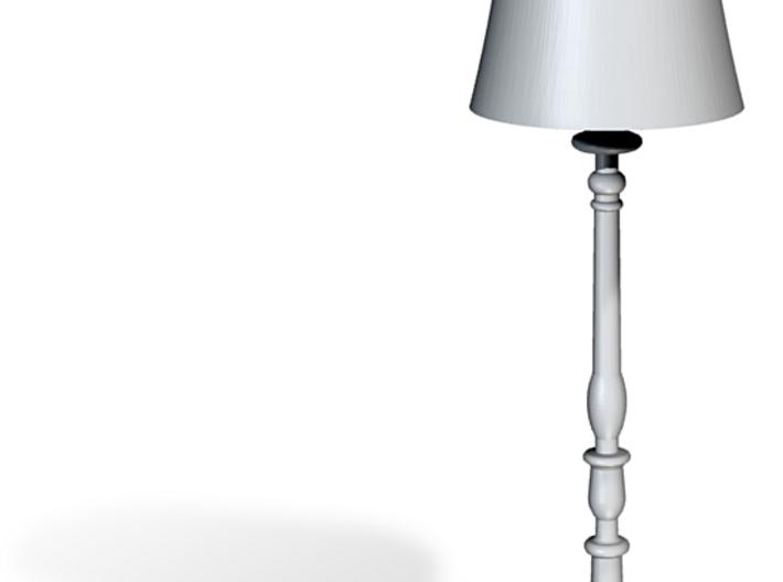 Miniature 1:48 Floor Lamp 3d printed