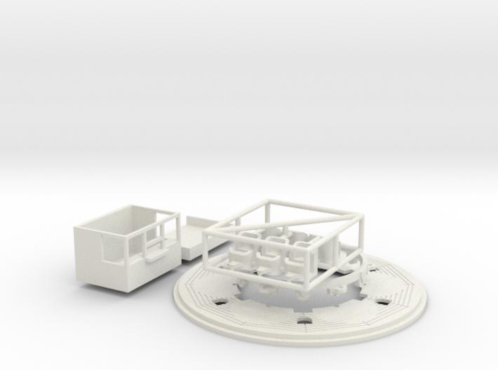 "kleine ""swingmill"" für Faller 242316 (n scale) 3d printed"