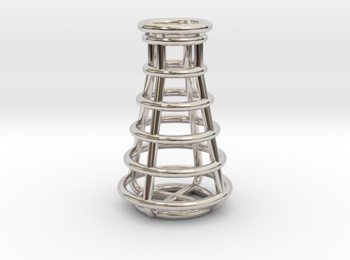 Erlenmeyer Flask Pendant 3d printed