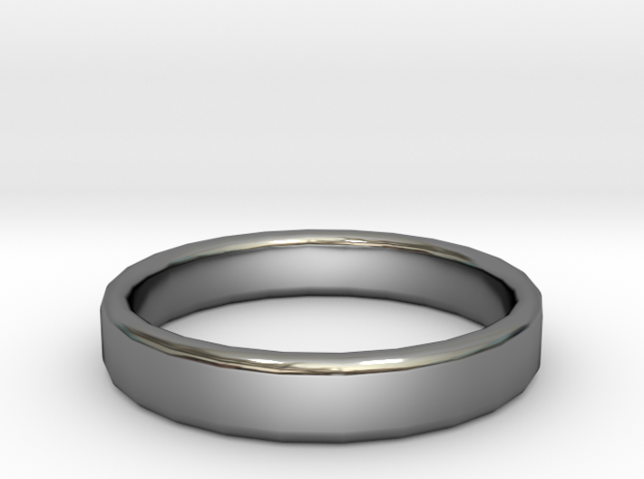 Wedding Ring Size 9 3d printed