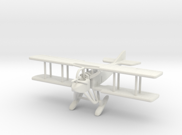 "SPAD A.2, ""Skis"" 1:144th Scale 3d printed"