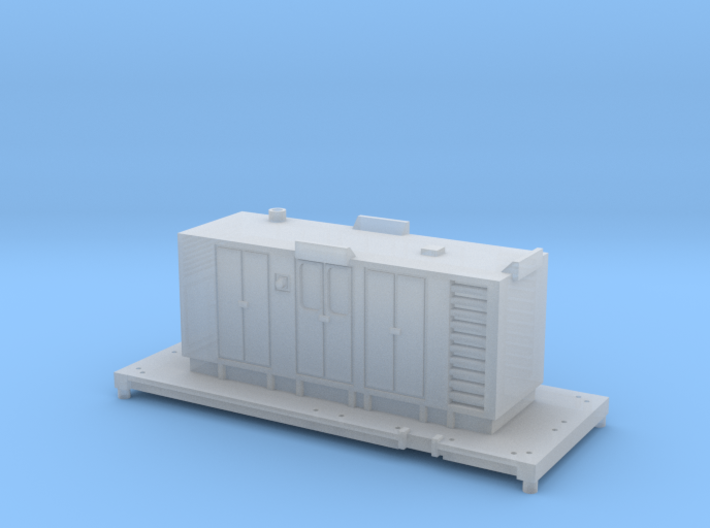 FEA-B Spine Wagon RHTT Recessed Windows Version 3d printed