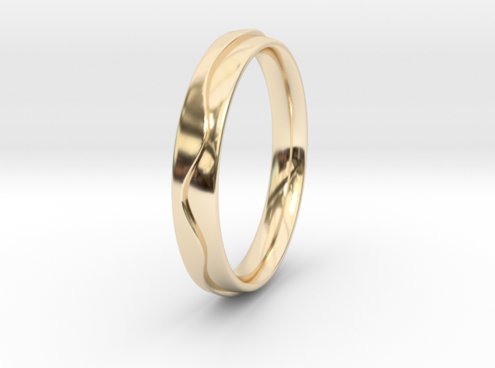 Layered Ring 3d printed