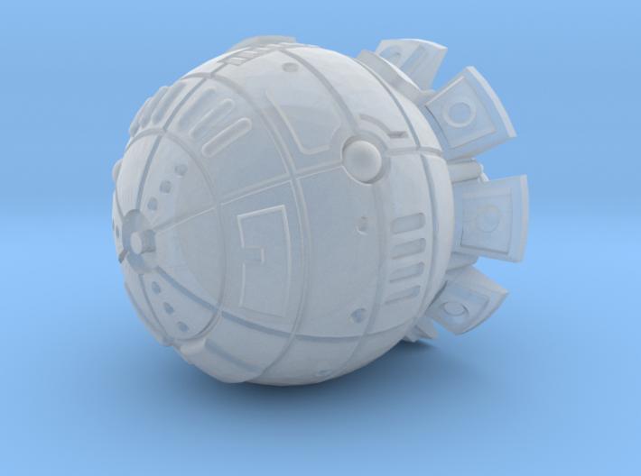Terran (TFN) Destroyer 3d printed